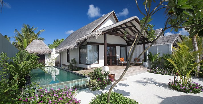 Earth Villa mit Pool - OZEN at Maadhoo
