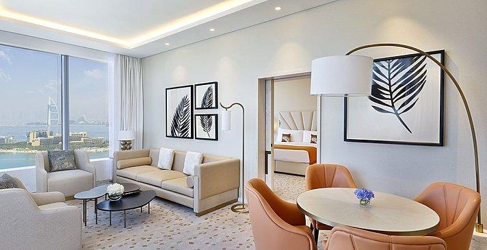 Ess- und Wohnbereich Metropolitan Suite