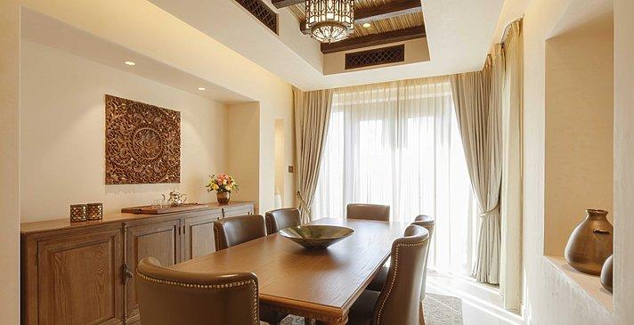 Essbereich One Bedroom Pool Villa - Al Wathba