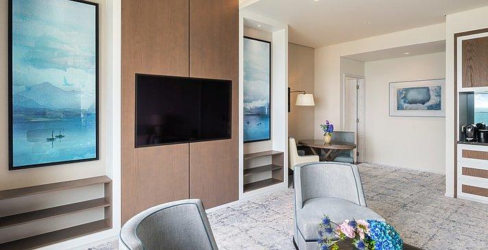 Executive Suite Ocean View Ess- und Wohnbereich