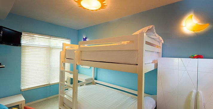 Family Beach Villa Kinderschlafzimmer - Constance Halaveli Resort