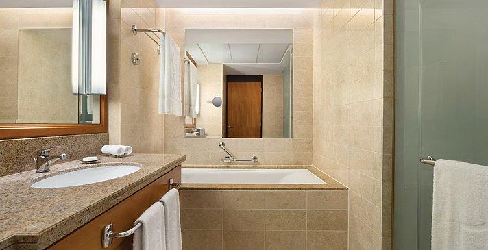Family Room Badezimmer - Shangri-La Barr Al Jissah - Al Waha