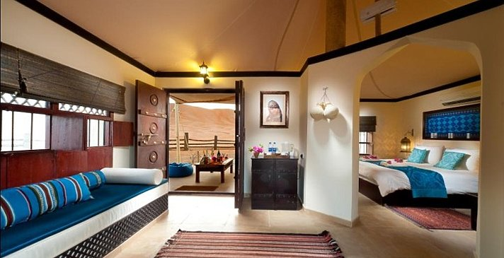 Deluxe Tented Suite - Desert Nights Camp