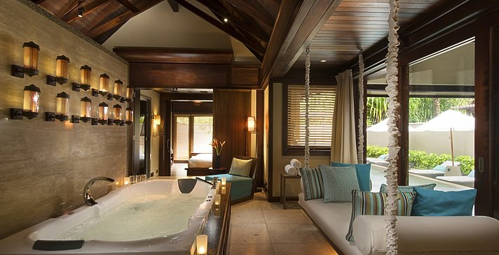 Family Villa Badezimmer - Constance Ephelia Seychelles