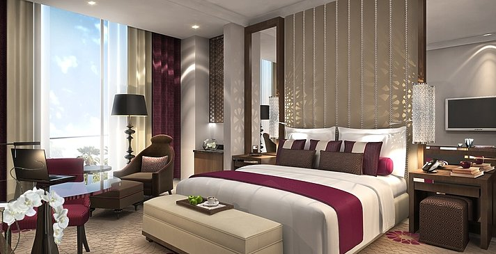 Gästezimmer des Fairmont Abu Dhabi Marina