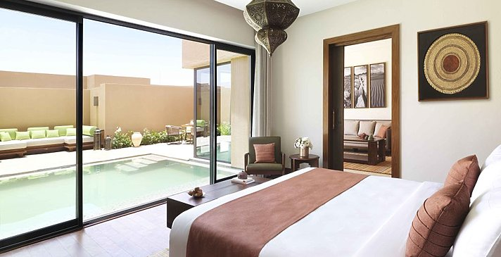 Schlafzimmer Garden Pool Villa - Anantara Jabal Akhdar Resort