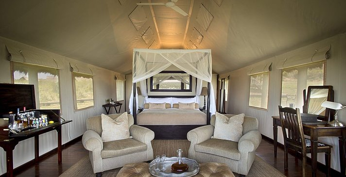 Luxury Tented Suite - Luxury Tented Suite - Gorah Elephant Camp