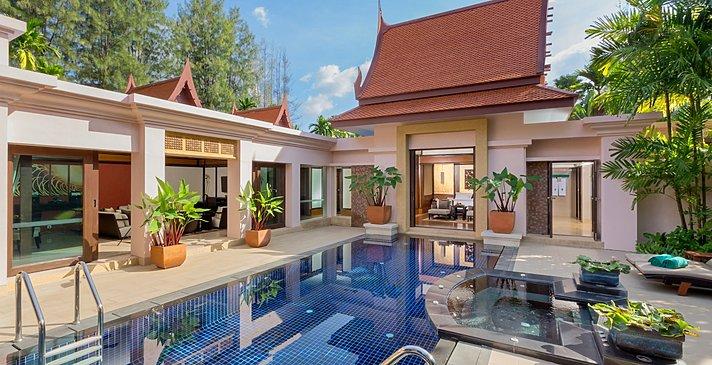 Grand 2 BR Pool Villa - Banyan Tree Phuket