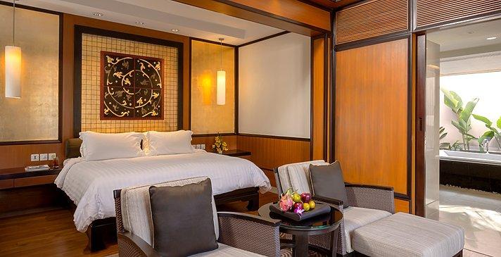 Grand 2 BR Pool Villa Schlafzimmer - Banyan Tree Phuket