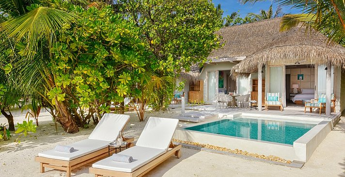Grand Beach Pool Villa - Kanuhura Maldives