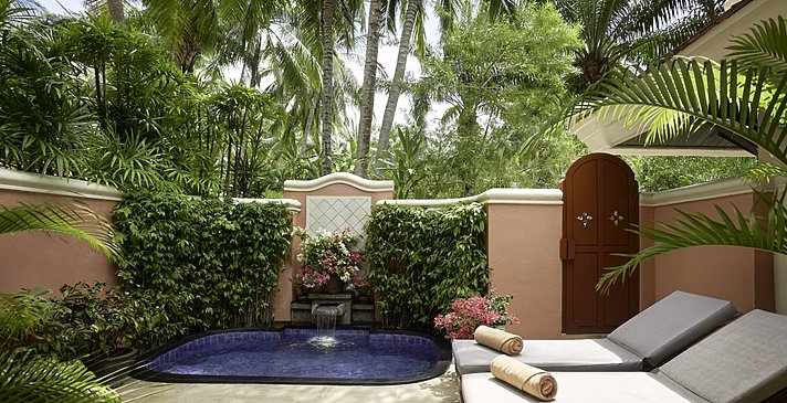 Grand Deluxe Garden Villa with Plunge Pool - Santiburi Koh Samui