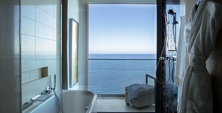 Grand Deluxe Sea Badezimmer - Jumeirah Port Soller Hotel & Spa