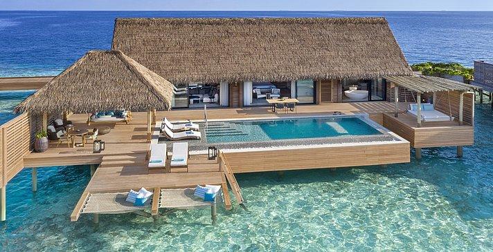 Grand Overwater Villa mit Pool - Waldorf Astoria Maldives Ithaafushi