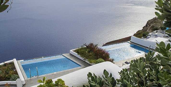 Grand Suite privater Pool - Santorini Secret Suites & Spa