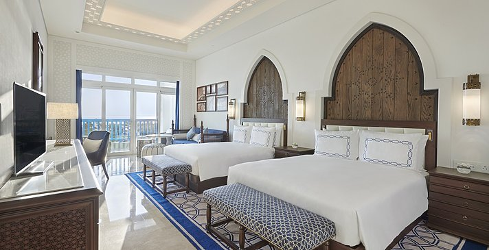 Guest Room Sea View (Queen) - Hilton Salwa Beach Resort