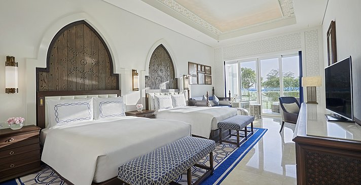 Guest Room (Queen) - Hilton Salwa Beach Resort