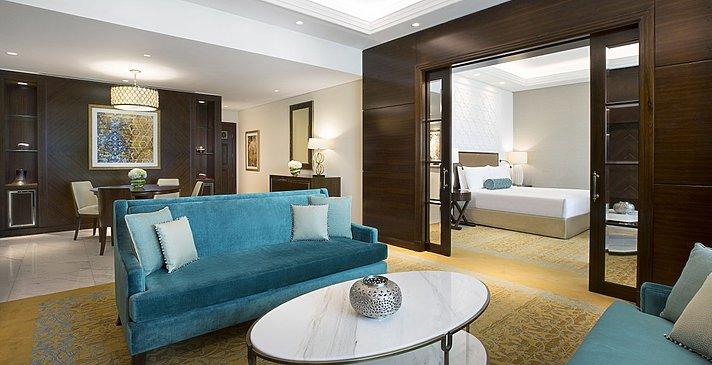 Gulf/Club Ocean Suite Wohnzimmer (Ghoroob Wing)