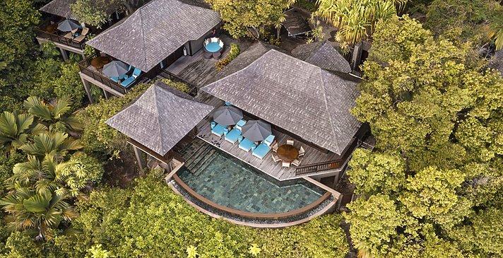 Hillside Villas Außenansicht - Constance Ephelia Seychelles