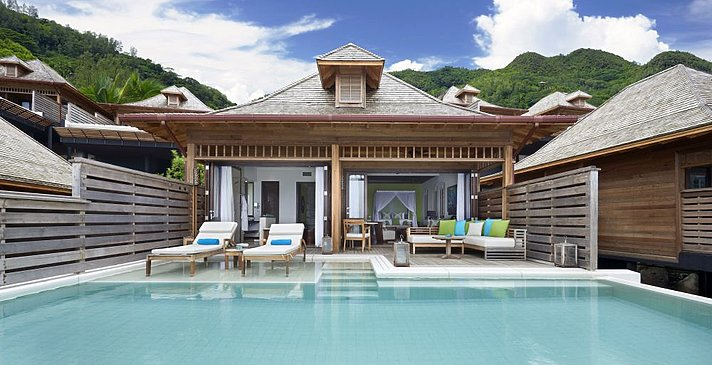 Grand Ocean View Pool Villa - Hilton Seychelles Northolme Resort & Spa