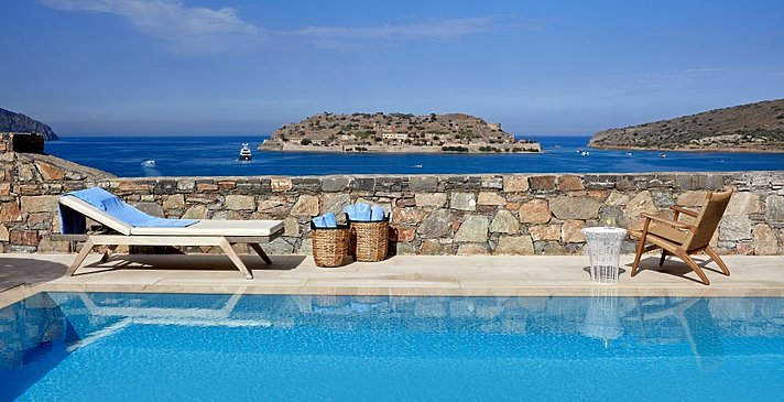 Island Luxury Suite Sea View Private Heated Pool - Blue Palace, A Luxury Collection Resort & Spa