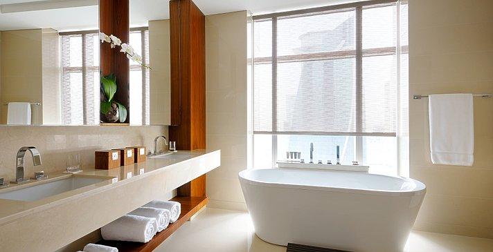 Corner-/Executive Suite Badezimmer - JW Marriott Marquis Dubai