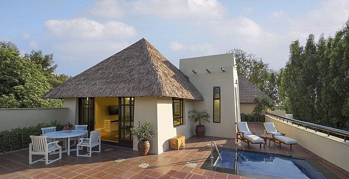 Beit Al Bahar Villa Außenbereich - Jumeirah Beach Hotel