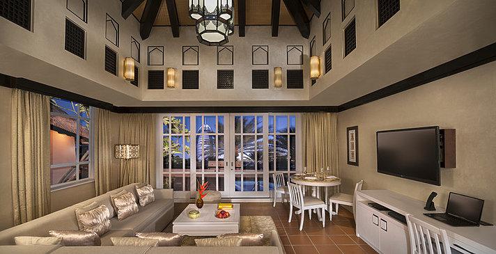 1BR-Beit Al Bahar Villa Wohnbereich - Jumeirah Beach Hotel