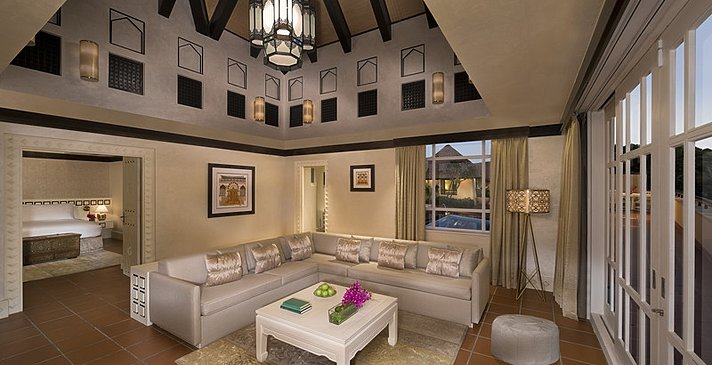 2-BR-Beit Al Bahar Villa Wohnbereich - Jumeirah Beach Hotel