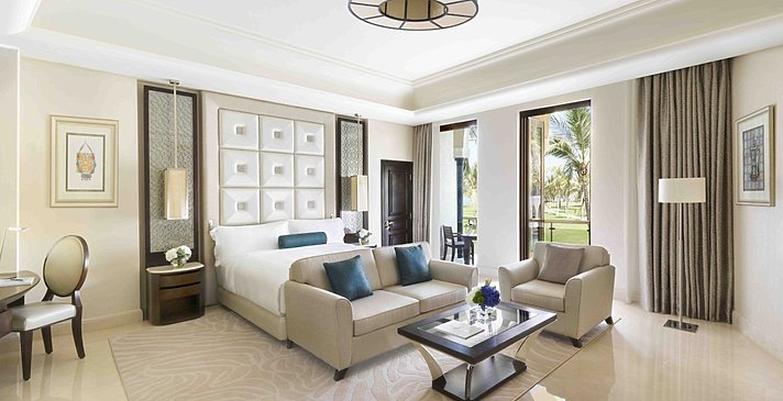 Junior Suite - Al Bustan Palace, A Ritz-Carlton Hotel