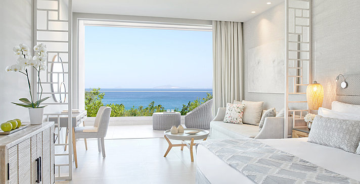 Junior Suite Balcony Sea View - Ikos Aria