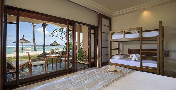 Junior Suite Beachfront - Familie - Shanti Maurice Resort & Spa