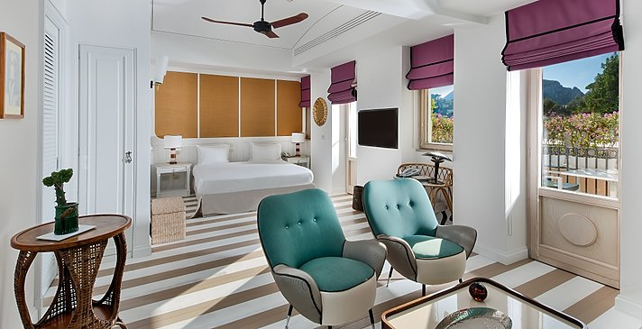 Junior Suite City View - Tiberio Palace