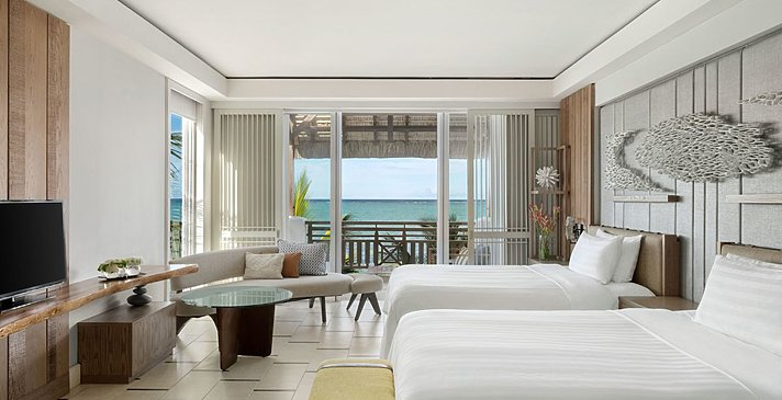Junior Suite Frangipani Ocean View - Shangri-La's Le Touessrok Resort & Spa