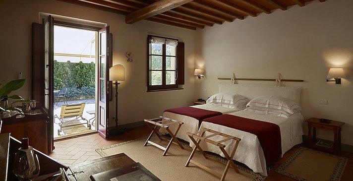 Junior Suite Nebengebäude - Hotel Le Fontanelle