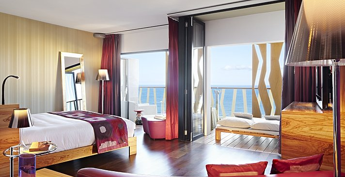 Junior Suite Ocean View - Bohemia Suites & Spa