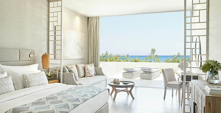 Junior Suite Private Garden Sea View - Ikos Aria