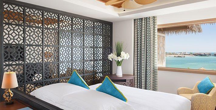 Junior Suite Schlafzimmer - Banana Island Resort by Anantara