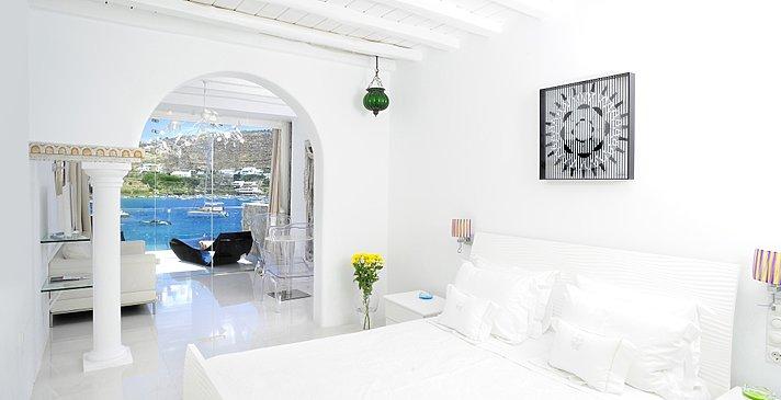 Junior Suite Sea View - Hotel Kivotos
