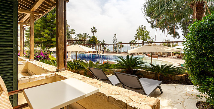 Junior Suite Sea View Ost - Columbia Beach Resort