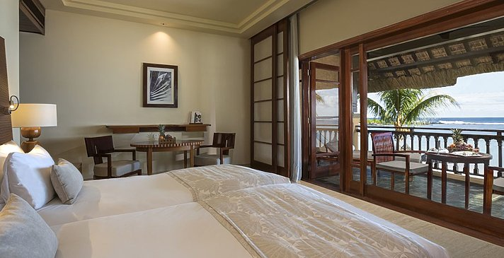 Junior Suite Oceanfront - Shanti Maurice Resort & Spa