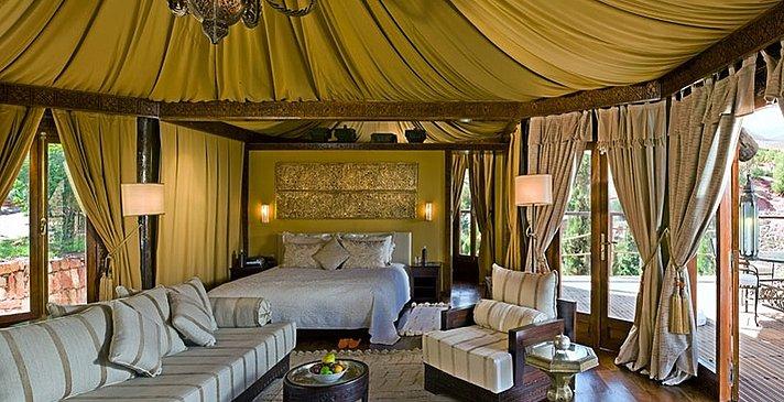 Kasbah Tamadot - Berber Tent
