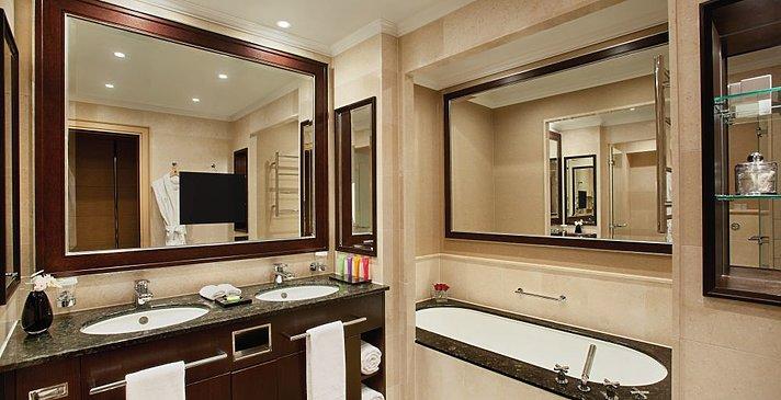 Kempinski Hotel Adriatic - Superior Room Badezimmer