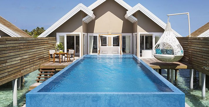 Temptation Pool Water Villa - LUX South Ari Atoll