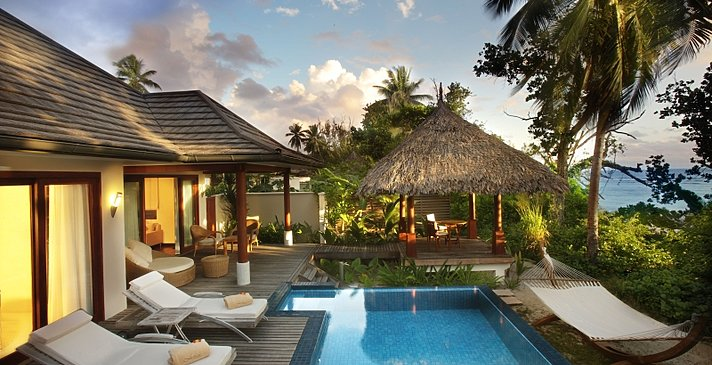 Deluxe Beachfront Pool Villa - Hilton Seychelles Labriz Resort & Spa