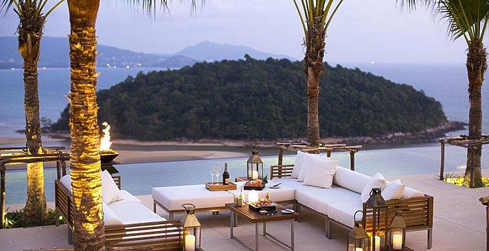 Blick von der Terrasse - Layan Residences by Anantara