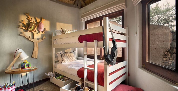 Lelapa Lodge Family Suite - Madikwe Safari Lodge