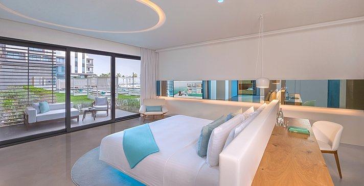 Luux Room (Zimmerbeispiel) - Nikki Beach Resort & Spa Dubai