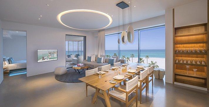 Luux Suite Sea View - Wohn- und Essbereich