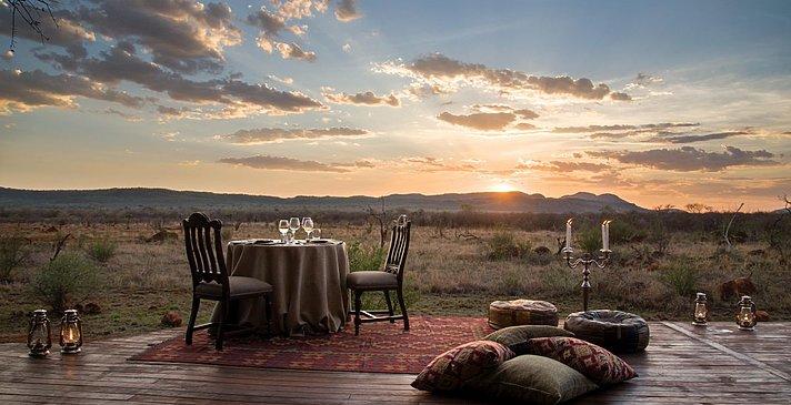 Luxury Room - privates Dinner - Madikwe Hills Private Game Lodge
