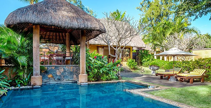 Luxury Villa mit privatem Pool - The Oberoi Beach Resort Mauritius